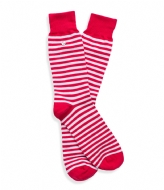 Alfredo Gonzales Stripes Socks red white