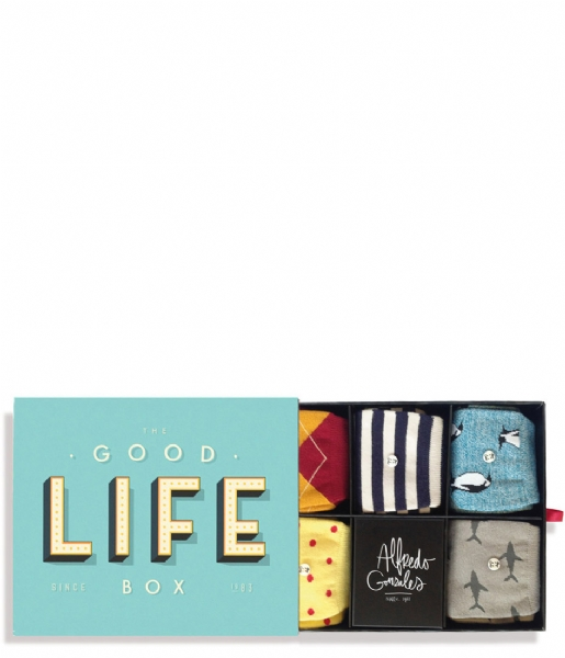Alfredo Gonzales Sokken The Good Life Socks Box good life box