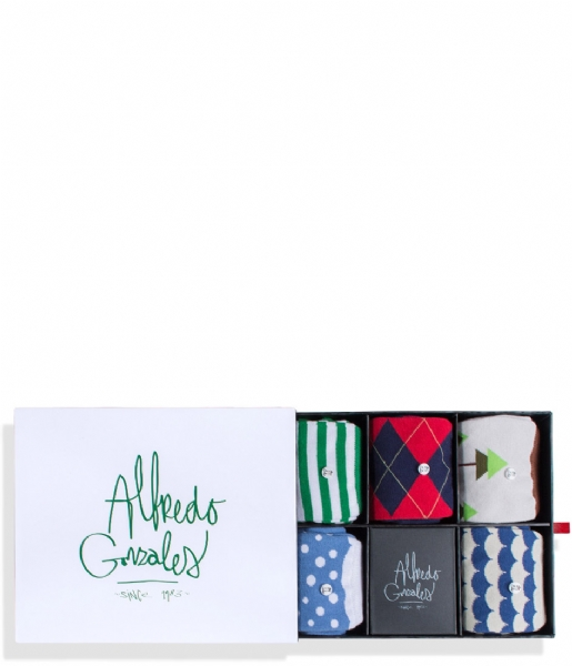Alfredo Gonzales Sokken The Holiday Socks Box the holiday box