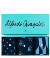 Alfredo Gonzales Blue 3 Pack Giftbox blue