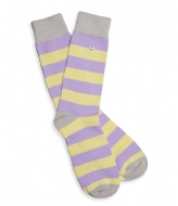 Alfredo Gonzales Stripes Socks purple