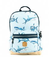 Pick & Pack Shark Backpack M Light blue (13)
