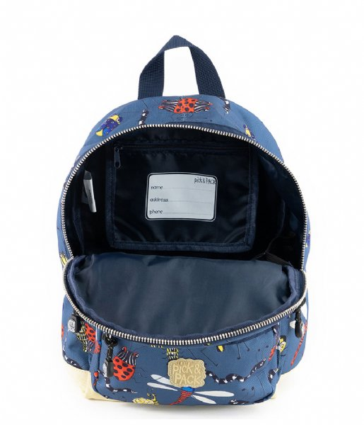 Pick & Pack School rugzak Insect Backpack S Petrol (19)