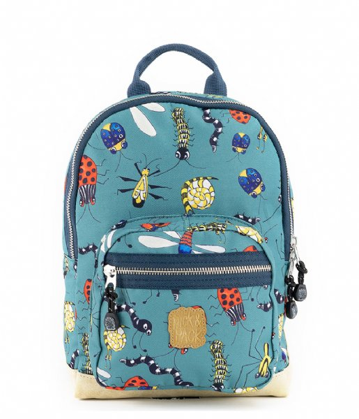 Pick & Pack School rugzak Insect Backpack S Forest (41)