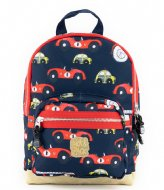 Pick & Pack Cars Backpack S Navy (14)