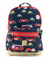 Pick & Pack Cars Backpack M 13 Inch Navy (14)