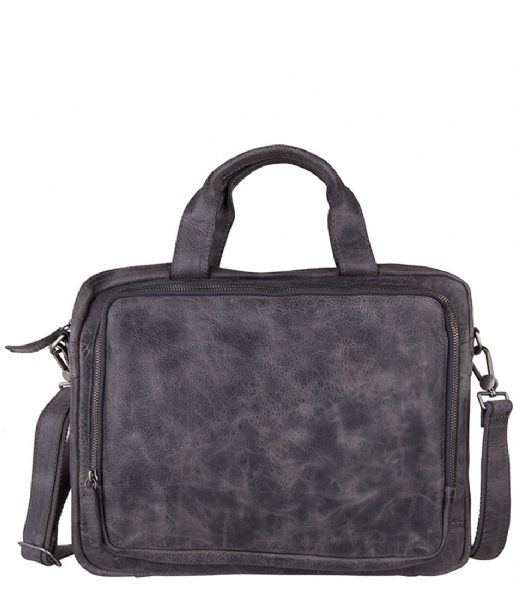 Amsterdam Cowboys Laptop schoudertas Bag Claxton misty grey