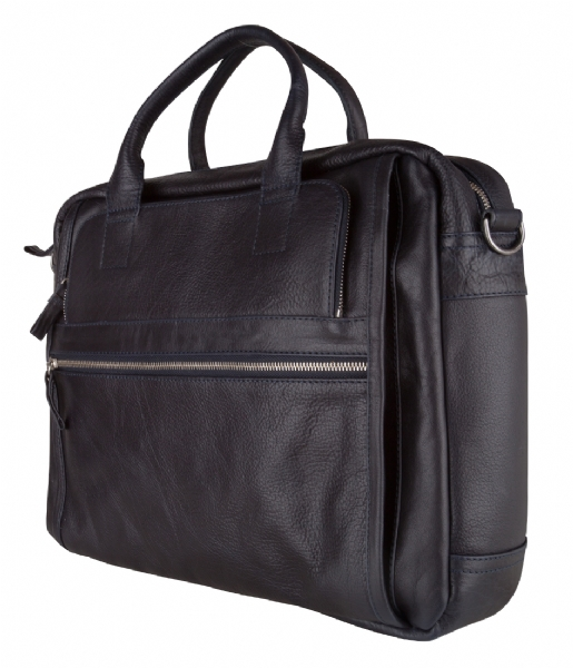 Amsterdam Cowboys Laptop schoudertas Bag Ridgeland 15 inch navy