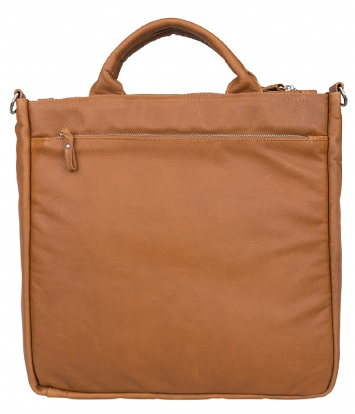 Amsterdam Cowboys Laptop schoudertas Bag Manistee 15.6 Inch tobacco