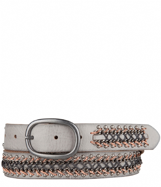 Amsterdam Cowboys Riem Belt 309061 light grey