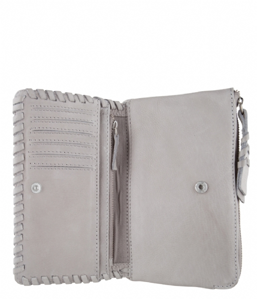 Amsterdam Cowboys Bi-fold portemonnee Bag Ossett light grey