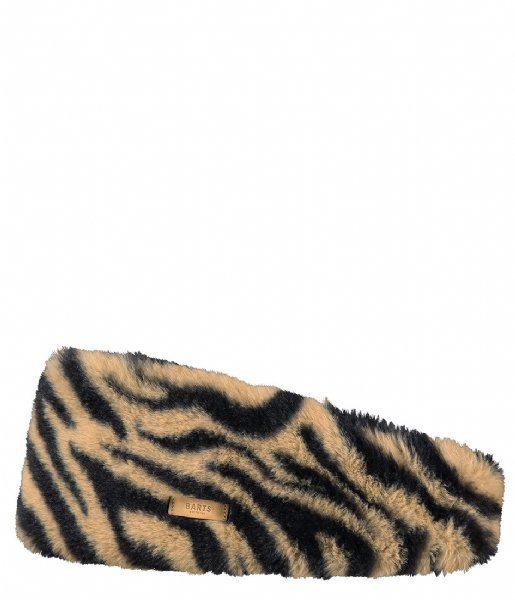 Barts Oorwarmer Calla Headband Print Brown (37)