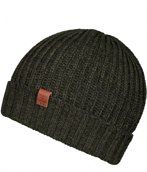 BICKLEY AND MITCHELL Muts Beanie army green (153)