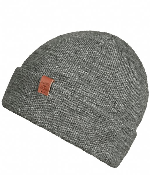 BICKLEY AND MITCHELL Muts Beanie grey melee (102)