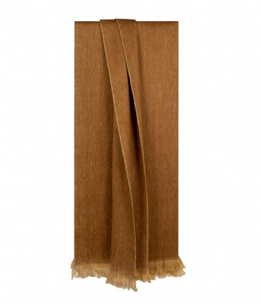 Bufandy Sjaal Shawl Fabian ocher brown