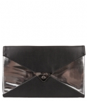 Bulaggi Clutches Metallic Ears Envelope Zilverkleurig