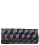 Bulaggi Clutches Clutch Woven Pattern Zwart