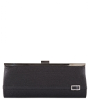 Bulaggi Clutches Framebag Diamond Buckle Zwart