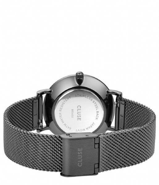 CLUSE Horloge Minuit Mesh Full Dark Grey full dark grey (CL30067)