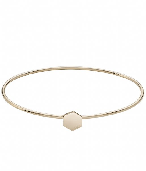 CLUSE Armband Essentielle Hexagon Bangle Bracelet gold plated (CLJ11001)