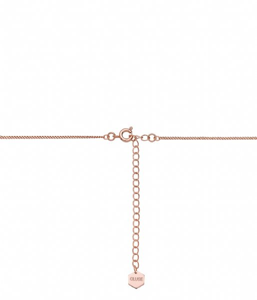 CLUSE Ketting Essentiele All Hexagons Choker Necklace rose gold plated (CLJ20003)