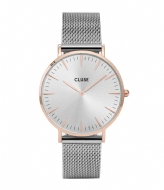 CLUSE Boho Chic Mesh Rose Gold Silver rose gold silver silver (CW0101201006)