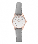 CLUSE La Vedette Rose Gold Colored White white grey (50009)