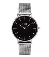 CLUSE La Boheme Mesh Silver Colored silver colored black (CL18106)