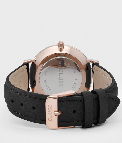 CLUSE Horloge La Boheme Rose Gold Colored White white black (CL18008)