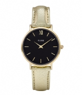 CLUSE Minuit Gold Plated Black black gold plated metallic (CL30037)