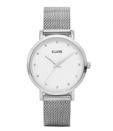 CLUSE Pavane Mesh Silver Colored White white silver colored (CW0101202001)