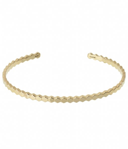 CLUSE Armband Essentielle All Hexagons Bangle Bracelet gold plated (CLJ11017)