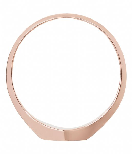 CLUSE Ring Essentielle Hexagon Ring rose gold plated (CLJ40011)