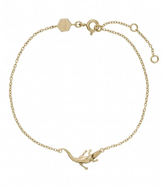 CLUSE Armband Force Tropicale Alligator Chain Bracelet gold plated (CLJ11021)
