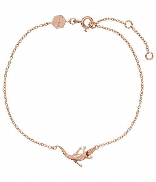CLUSE Armband Force Tropicale Alligator Chain Bracelet rose gold plated (CLJ10021)