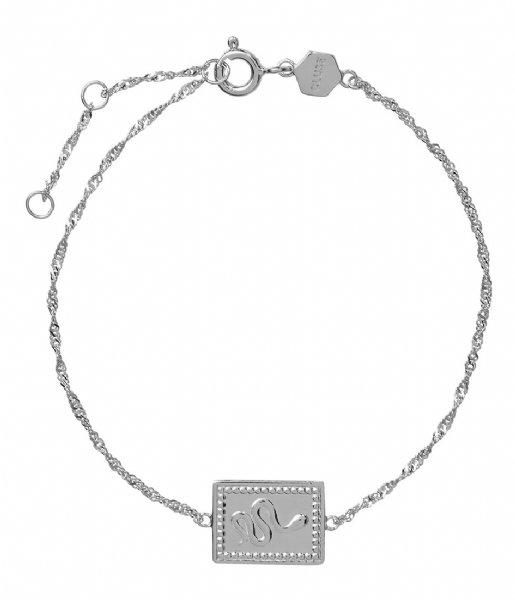 CLUSE Armband Force Tropicale Twisted Chain Tag Bracelet silver colored (CLJ12022)