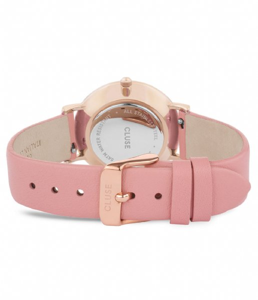 CLUSE Horloge Le Couronnement Rose Gold Plated White soft rose (CL63002)