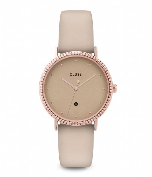 CLUSE Horloge Le Couronnement Rose Gold Plated gold plated dust (CL63006)