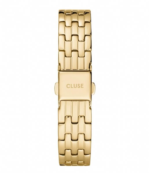 CLUSE Horlogebandje 5 Link Strap 16 mm  gold plated (CS1401101075)