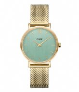 CLUSE Minuit Mesh Gold Plated Stone Green gold plated stone green (CW0101203030)