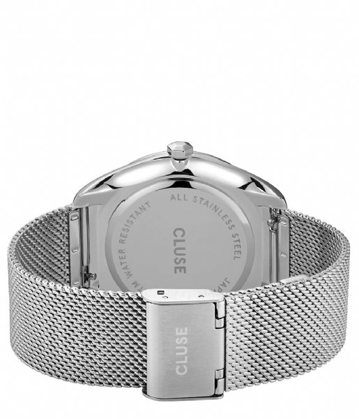 CLUSE Horloge Feroce Mesh Silver Plated White silver plated (CW0101212001)