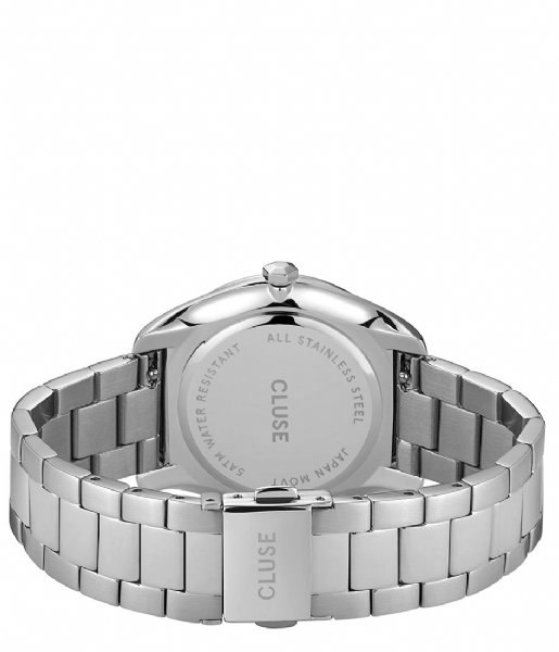 CLUSE Horloge Feroce 3 Link Silver Plated White silver plated (CW0101212003)