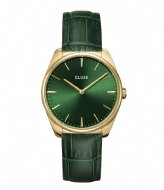 CLUSE Feroce Leather Gold Plated gold plated forest green (CW0101212006)