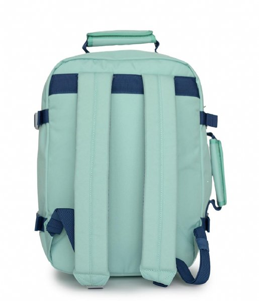 CabinZero Outdoor rugzak Classic Cabin Backpack 28 L 15 Inch green lagon