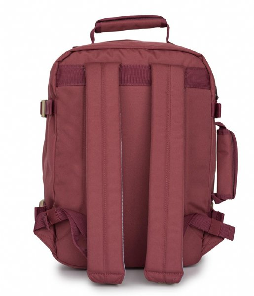 CabinZero Outdoor rugzak Classic Cabin Backpack 28 L 15 Inch napa wine