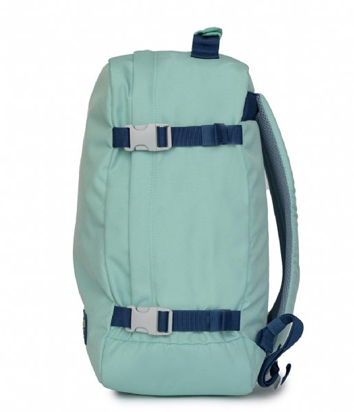 CabinZero Outdoor rugzak Classic Cabin Backpack 36 L 15.6 Inch green lagon