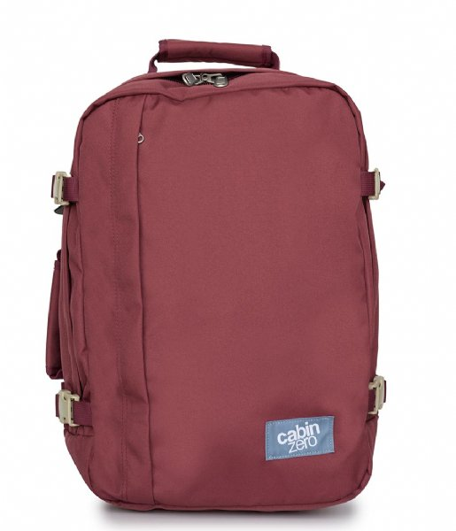 CabinZero Outdoor rugzak Classic Cabin Backpack 36 L napa wine