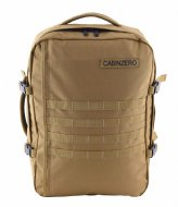 CabinZero Military Cabin Backpack 44 L 15 Inch desert sand