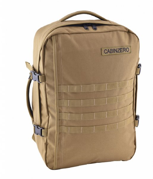 CabinZero Outdoor rugzak Military Cabin Backpack 44 L desert sand