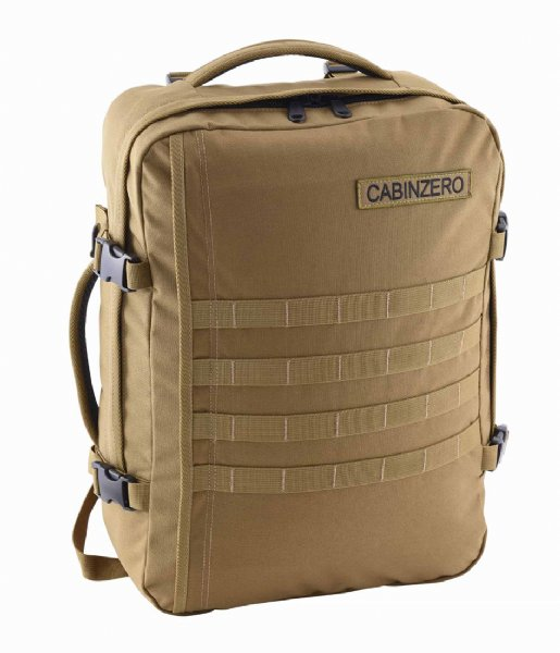 CabinZero Outdoor rugzak Military Cabin Backpack 36 L 17 Inch desert sand